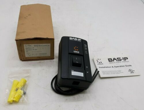 Cerus BAS-1P Single Phase Manual Motor Controller