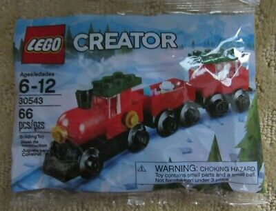 New LEGO Creator® Holiday Train in In Sealed Poly Bag set # 30543