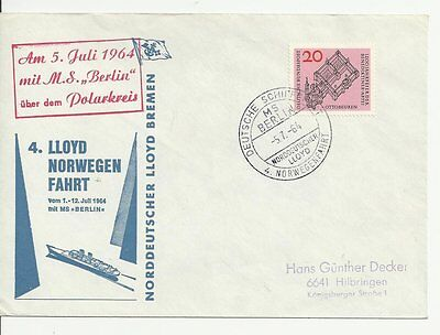 NDL SUU 006  - 4. Norwegenfahrt 05.07.1964  (DA116)