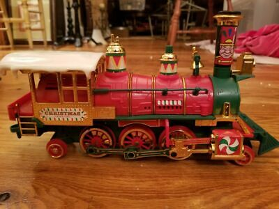 New Bright Musical Christmas Express Train Locomotive from 1986 Set 183