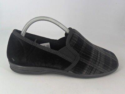 Chums Washable Velour Slippers UK 8 EU 42 JS086 NN 10