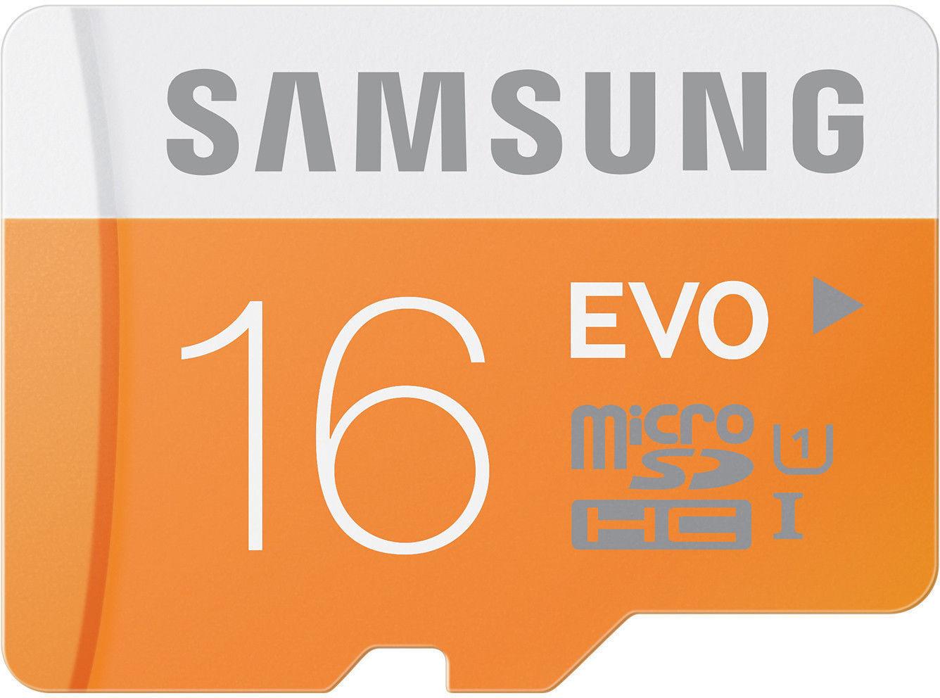 16GB Samsung EVO microSD Card Galaxy S8 J7 Express3 On5 Pro