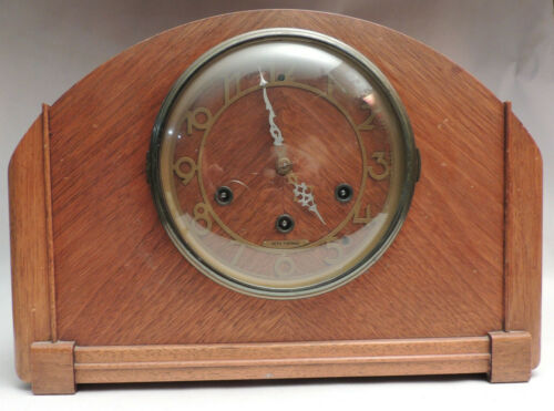 Art Deco Seth Thomas 8 Day Mantel Clock 124 Falsbury