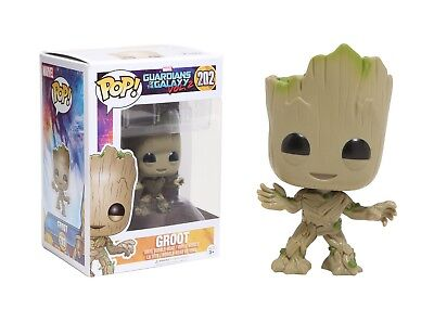 POP! Marvel Guardians of the Galaxy 2 Groot 202 Vinyl Bobble