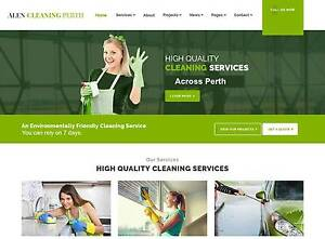 Cheap Cleaning Service Website For Sale Perth Perth City Area Preview