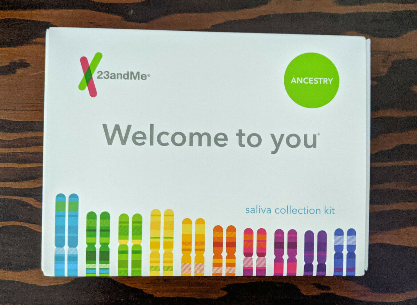 23andMe Ancestry Traits DNA Saliva Kit - All Fees Included, No Extra Cost 100 - $80.00