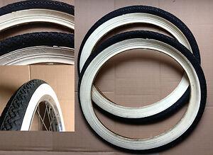 Coppia-copertoni-bici-tyres-bicycle-Michelin-NOS-16x1-75x2-47-305-Graziella