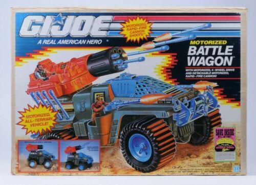 1991 Hasbro GI Joe Series 10 Motorized Battle Wagon MISB Factory Sealed Box