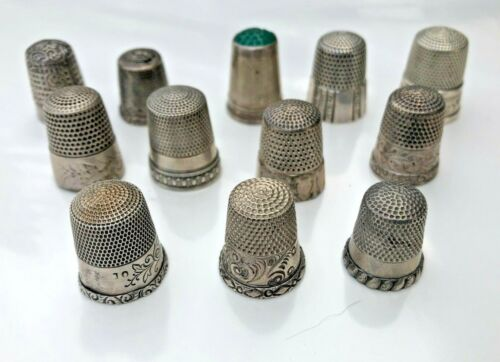 Lot Of 12 Antique Turn Of The Century 1900