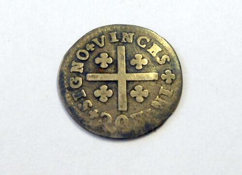 Joao V Magnanino Tostao Silver Coin Circa 1725