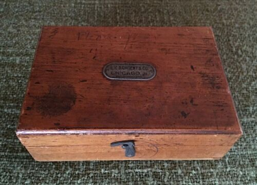 Vintage E. H. Sargent & Co. Scale Weights Set
