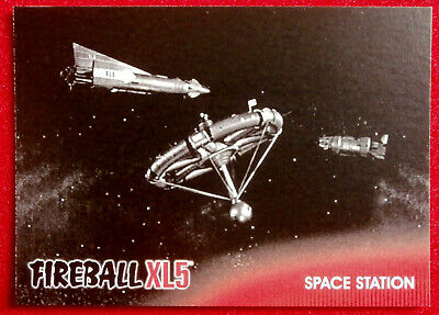 FIREBALL XL5 - Base Card #12 - SPACE STATION - Gerry Anderson - 2017