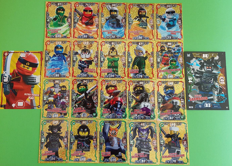 Lego® Ninjago™ Serie 3 Trading Card Limitierte Karten zum aussuchen LE1-LE24