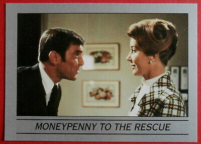 ON HER MAJESTY'S SECRET SERVICE - Card #35 - MONEYPENNY TO THE RESCUE - Eclipse