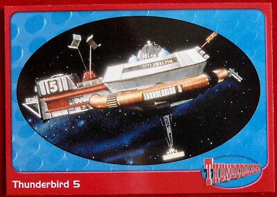 THUNDERBIRDS - Thunderbird 5 - Card #10 - Cards Inc 2001 - Gerry Anderson
