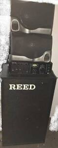 REED 5 Channel 100W PA System Mount Annan Camden Area Preview