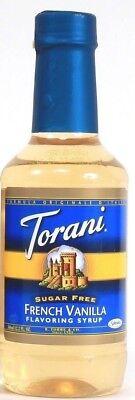 1 Torani French Vanilla  Flavor Syrup  Add To Coffee Sugar Free Best By 3-23-20