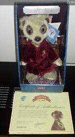 Yakov meerkat toy with papers