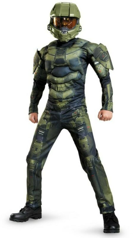 Halo Master Chief Costume Size. M 7/8