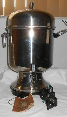 Farberware 155A Superfast Commercial 12-55 Cup Stainless Steel Coffee Urn Maker