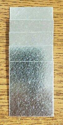 50pcs Galvanized Steel G90 22ga .030 1-58x2 Sheet Metal Weldingcrafts