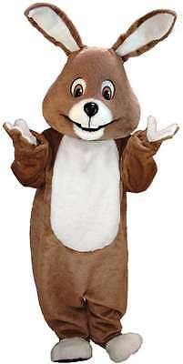 Brown Bunny Professional Quality Lightweight Mascot Costume