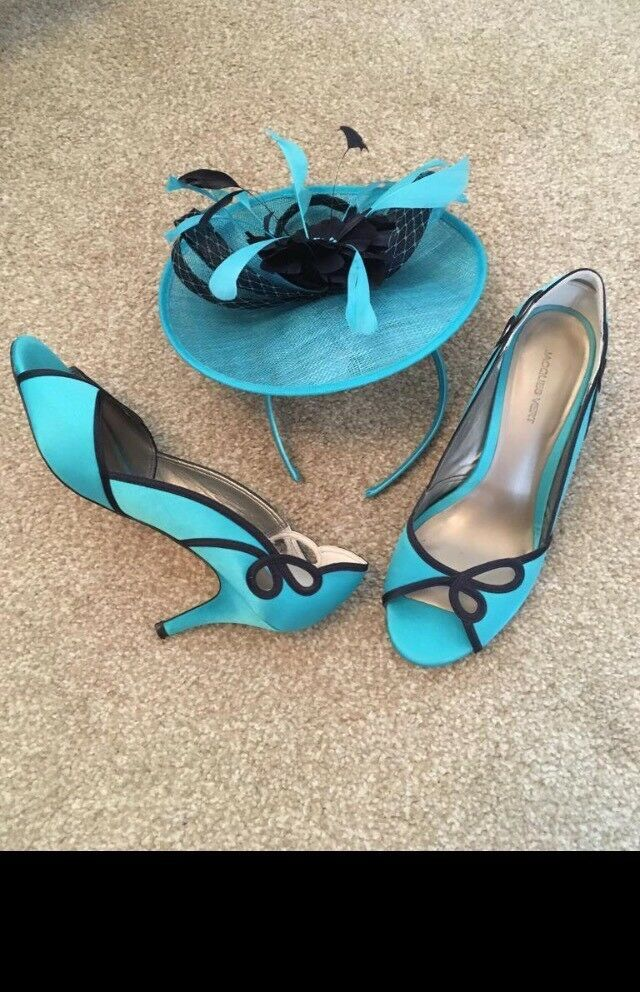 Jacques Vert shoes and fascinator