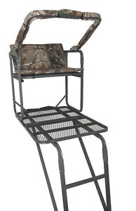 Summit Crush Series Solo Pro Ladder Stand Treestand Deer Hunting 82065