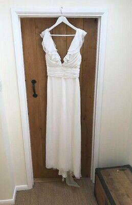 Brand New Ivory Wedding Dress Size 10
