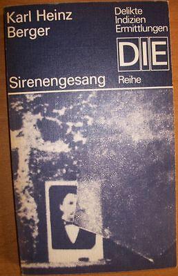 Sirenengesang von Karl Heinz Berger /   DIE Reihe