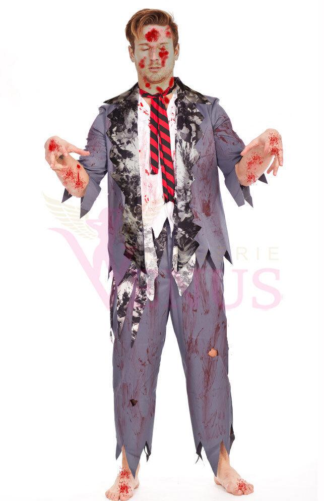 Costume Halloween 3xl.Op 203 Mens Costume Fancy Dress Halloween Zombie Suiit S M L Xl 2xl 3xl Ebay