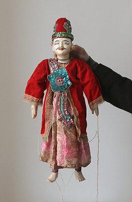 Old BURMA marionette, string puppet