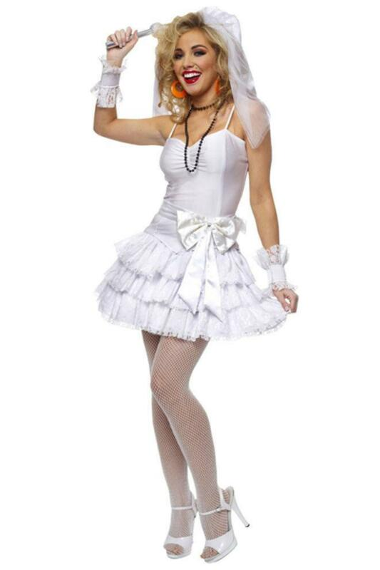 Madonna Fancy Dress Bride Ebay