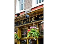 STAFF WANTED - The Water Poet Shoreditch x