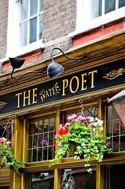 STAFF WANTED - The Water Poet Shoreditch