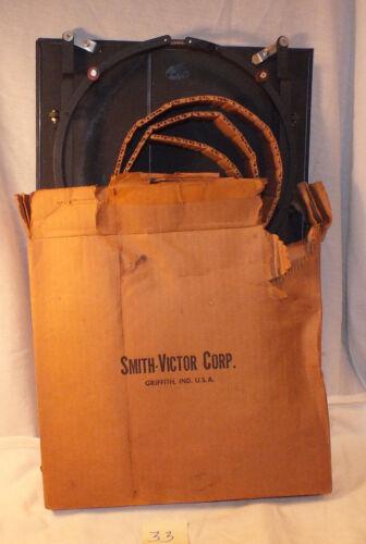 VINTAGE Smith-Victor BD100 2 Leaf Barndoor/Filter Holder Combo