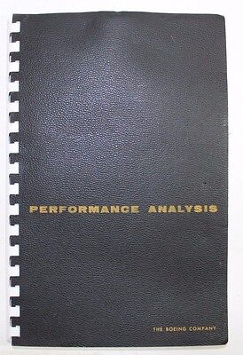 Vintage The Boeing Company Performance Analysis January 1961