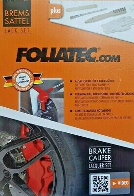 FOLIATEC.com 7-teiliges Bremssattel Lack Set - Racing Rosso (2160)