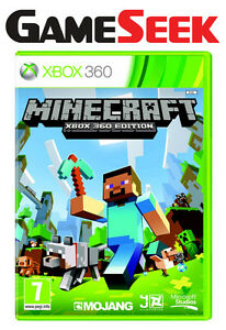 MINECRAFT-Xbox-360-X360-New-Sealed-Game-Fast-despatch-OFFICIAL-UK-PAL