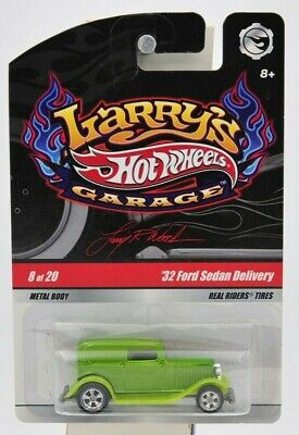 "Hot Wheels 2008 Larry's Garage ""32 Ford Sedan Delivery"" (Signed) 8 of 20 ""NIP"""