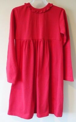 New Kayce Hughes / P&K Cici Red Knit Dress Girl's Size 6 ~ Great For Monogram](Monogrammed Dresses For Girls)