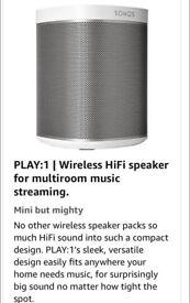 Sanos multi room speaker system