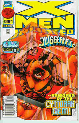 X-Men Unlimited # 12 (Onslaught - Impact 2 tie-in) (68 pages) (USA, 1996)