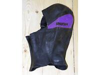 Spartan neprene hood for windsurfing, kit surfing, kayaking etc. Used twice. Suit medium sized head
