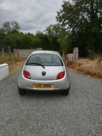 Ford Ka Style Silver 2008 mot'd Fully serviced Low mileage 36000 Perfect condition Mechanically A1