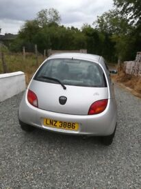 Ford Ka Style. Silver 2008. MOT. Low milage. 36,000