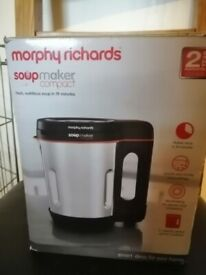 Morphy Richards Compact Soup Maker - Brand New never used , box never opened