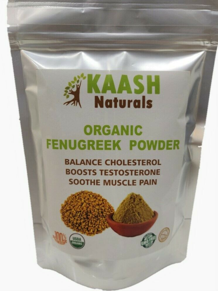 FENUGREEK POWDER 100% Raw from India,USDA Certified Organic