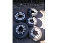 """VW Camper Van 14"""" wheels, 205 PCD X 5 (as per photo)"""