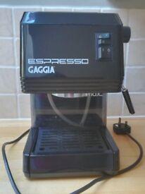 Gaggia Espresso Machine complete with all accessories
